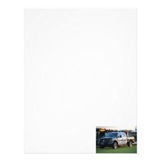 fort pierce police department pickup truck letterhead template
