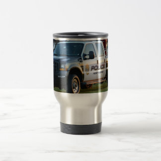 fort pierce police department pickup truck mugs