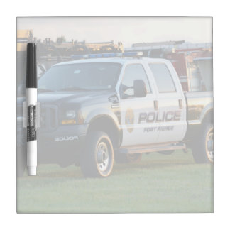 fort pierce police department pickup truck dry erase whiteboards