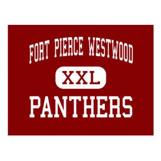 Fort Pierce Westwood - Panthers - Fort Pierce Postcard