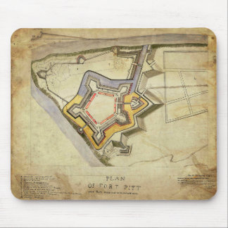 Fort Pitt Mouse Pad