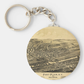 Fort Plain New York and Nelliston (1891) Keychain