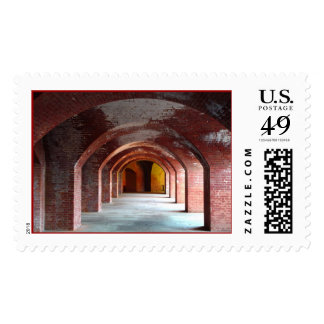Fort Point Arches Postage Stamp