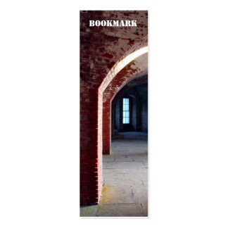 Fort Point Bookmark Business Card Templates