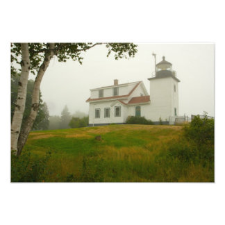 Fort Point Light Maine Photographic Print