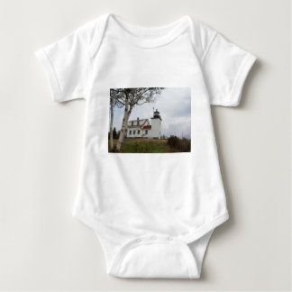 Fort Point Lighthouse Baby Bodysuit