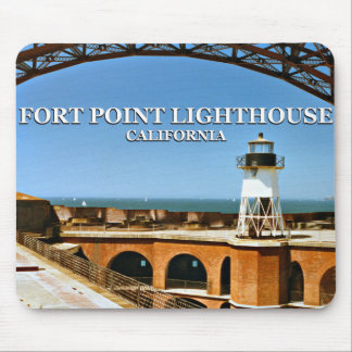 Fort Point Lighthouse, California Mousepad