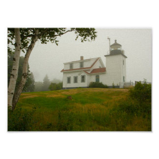 Fort Point Lighthouse, Maine Poster