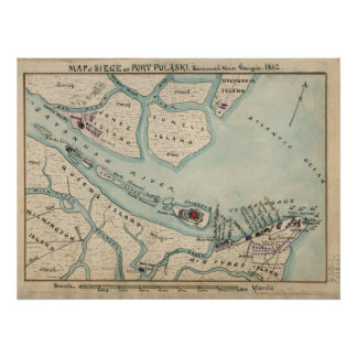 Fort Pulaski Poster