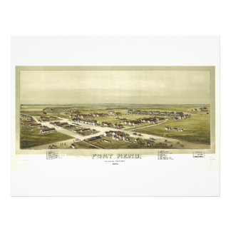 Fort Reno, Oklahoma Territory (1891) Letterhead