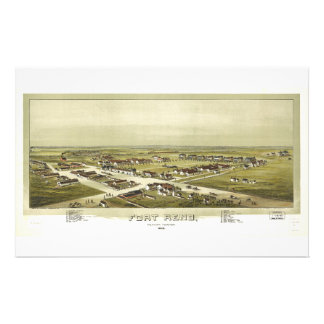 Fort Reno, Oklahoma Territory (1891) Stationery