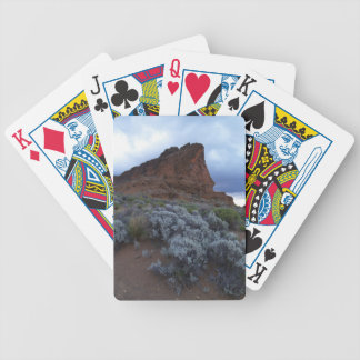 Fort Rock Oregon Bicycle Playing Cards