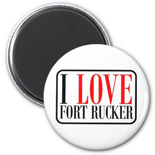Fort Rucker Alabama 2 Inch Round Magnet