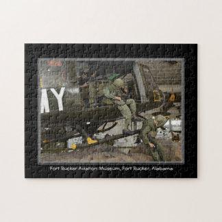 Fort Rucker Alabama Aviation Museum Mousepad Jigsaw Puzzle