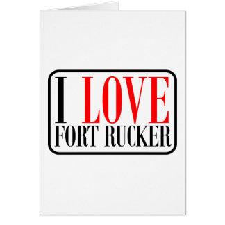 Fort Rucker Alabama Card