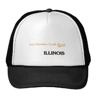 Fort Sheridan South Beach Illinois Classic Trucker Hat