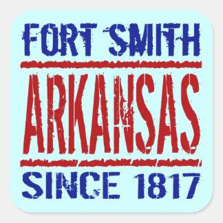 Fort Smith, Arkansas Since 1817 Square Sticker