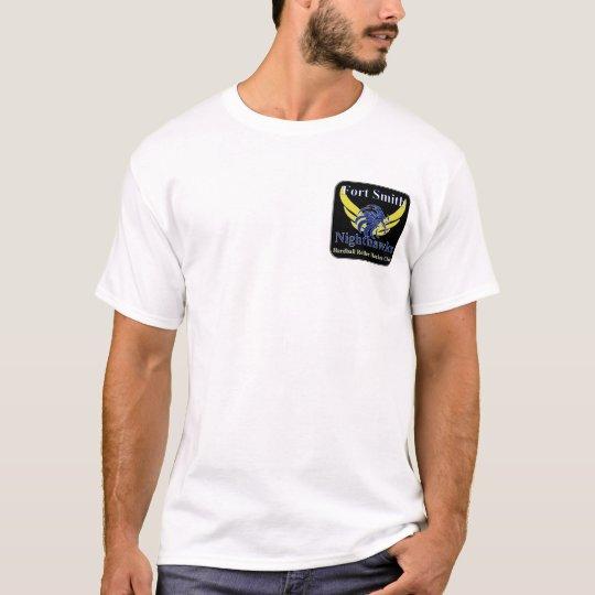Fort Smith Nighthawks Hardball Roller Hockey T T-Shirt