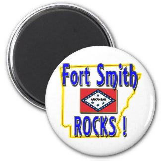 Fort Smith Rocks ! (blue) Magnet