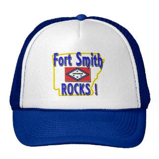 Fort Smith Rocks ! (blue) Trucker Hat