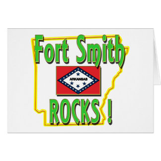 Fort Smith Rocks ! (green) Card