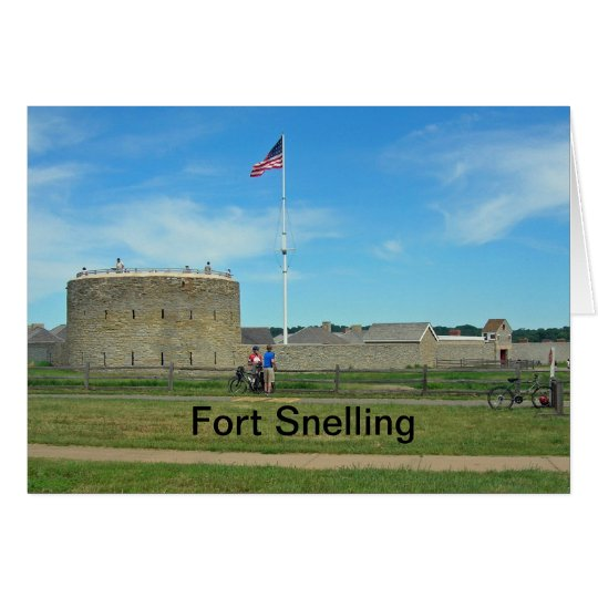 Fort Snelling Card