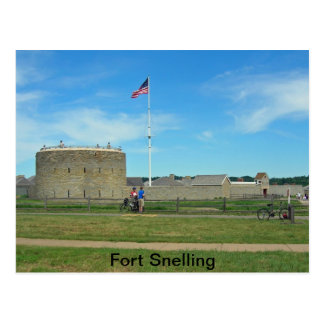 Fort Snelling Postcard