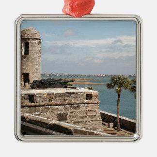 Fort, St Augustine, Florida, USA Metal Ornament