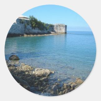 Fort St. Catherine, Bermuda Round Sticker
