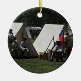 Fort Stanton New Mexico Reenactment Ceramic Ornament