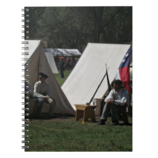 Fort Stanton New Mexico Reenactment Spiral Notebook