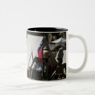 Fort Stanton New Mexico Reenactment Two-Tone Coffee Mug