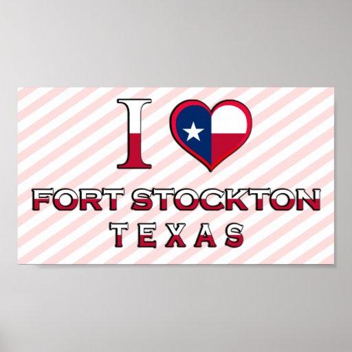 Fort Stockton, Texas Poster