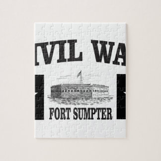 Fort sumpter double star jigsaw puzzle