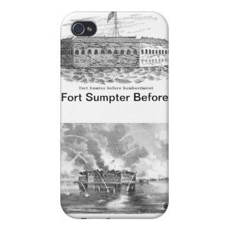 Fort Sumpter iPhone 4/4S Covers