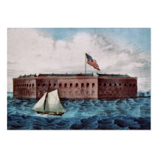 Fort Sumter Large Business Cards (Pack Of 100)