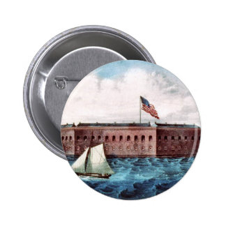 Fort Sumter Button