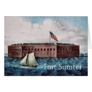 Fort Sumter Card