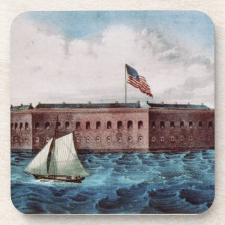 Fort Sumter Drink Coaster