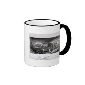 Fort Sumter Interior View of Three Gun Battery Coffee Mug