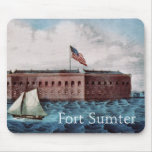 Fort Sumter Mousepads