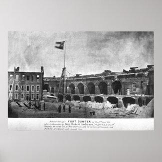 Fort Sumter Poster