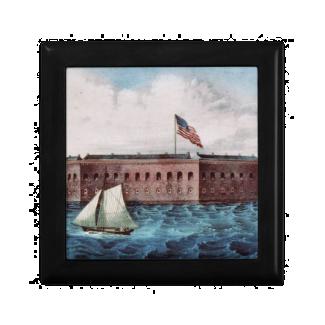Fort Sumter Trinket Boxes