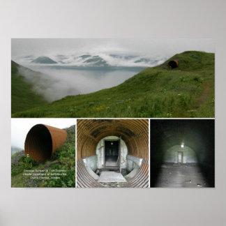 Fort Swatzka Underground Storage Bunker Poster