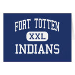 Fort Totten - Indians - High - Fort Totten Greeting Cards