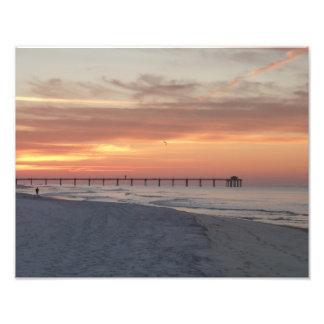 Fort Walton Beach Sunrise Photo Print
