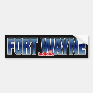 Fort Wayne Bumper Bumper Stickers