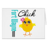 Fort Wayne IN Chick Card
