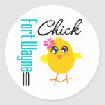 Fort Wayne IN Chick Stickers