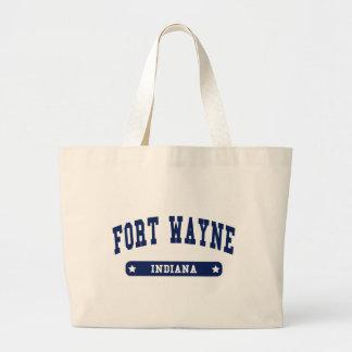 Fort Wayne Indiana College Style tee shirts Canvas Bag